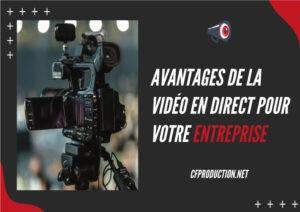 avantages du streaming live et de la vidéo en direct