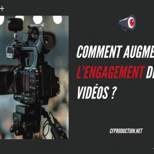 8 conseils pour augmenter l'engagement d'une vidéo